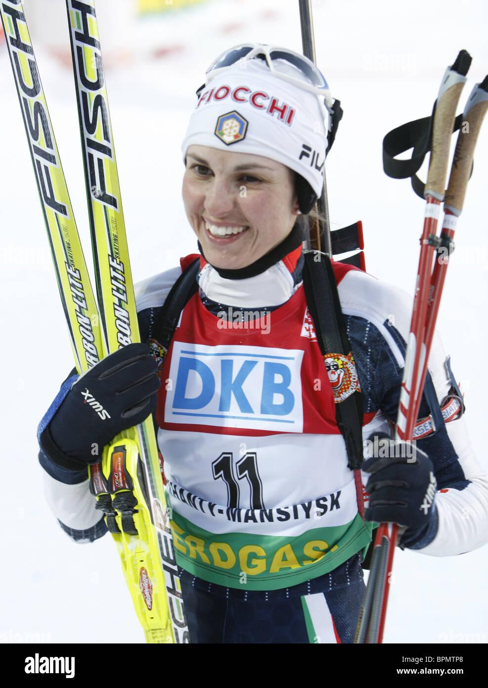 Biathlon World Cup Final - Stock Image