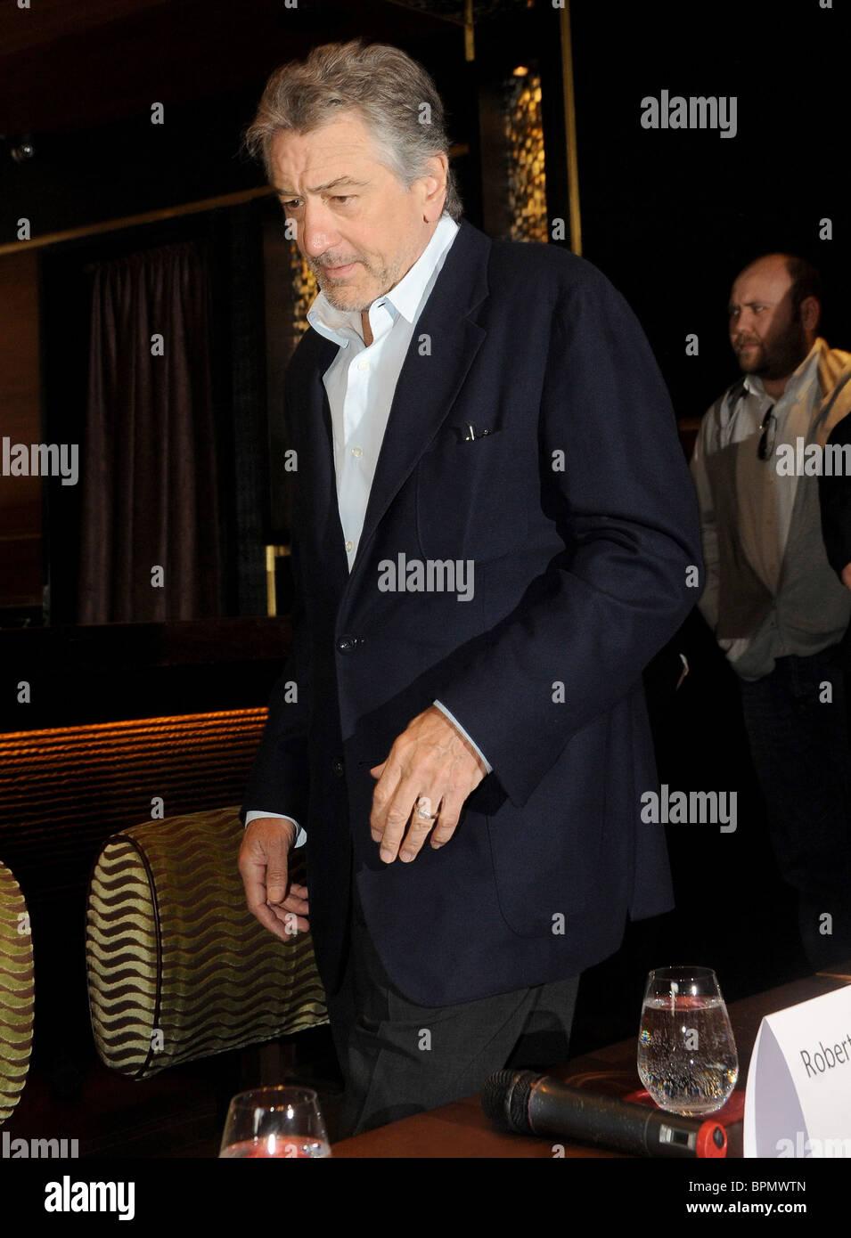Robert De Niro opens restaurant in Moscow - Stock Image