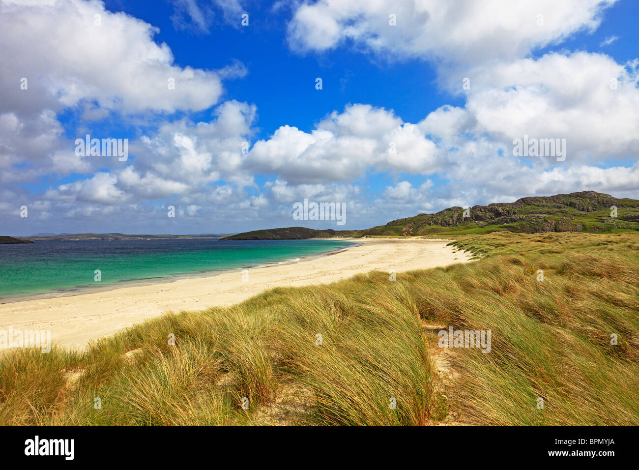Reef beach, Isle of lewis, Outer Hebrides, Scotland - Stock Image