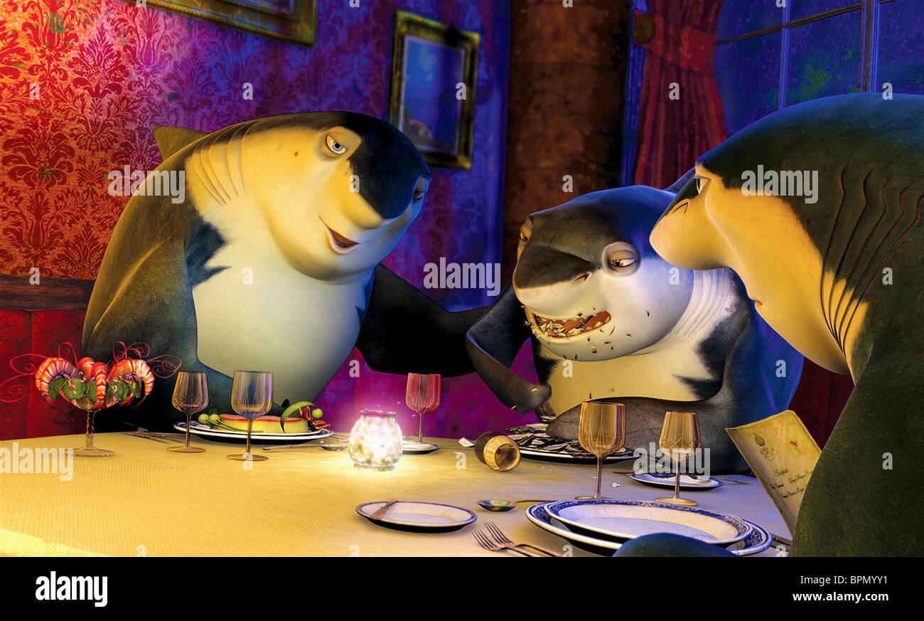Don Lino Frankie Lenny Shark Tale 2004 Stock Photo Alamy