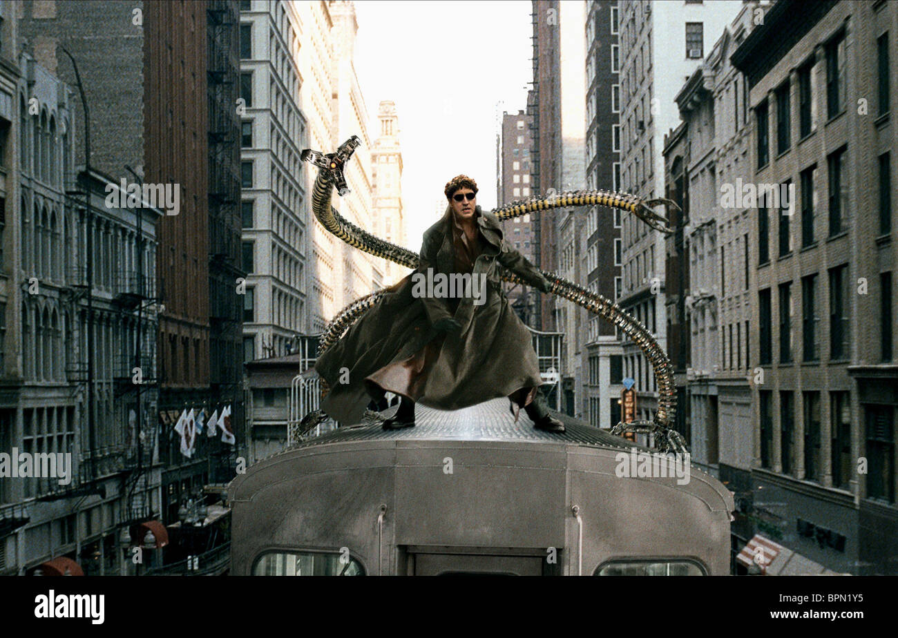 alfred molina spiderman ii spiderman 2 2004 stock photo