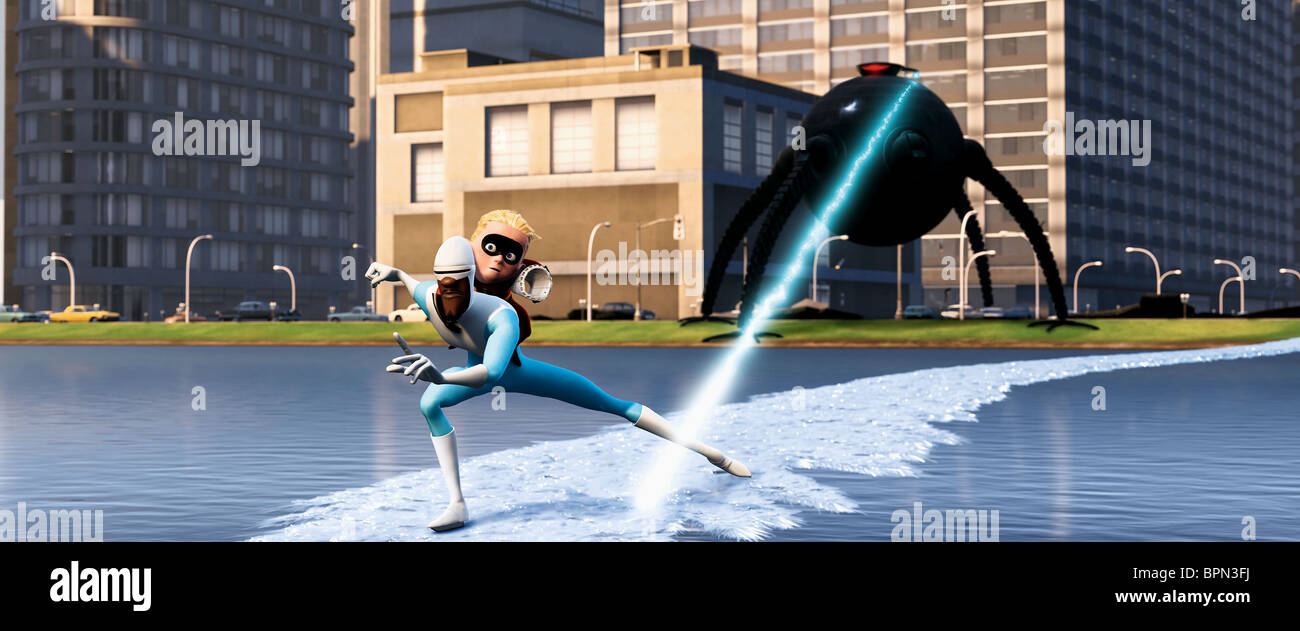FROZONE & DASH THE INCREDIBLES (2004) - Stock Image