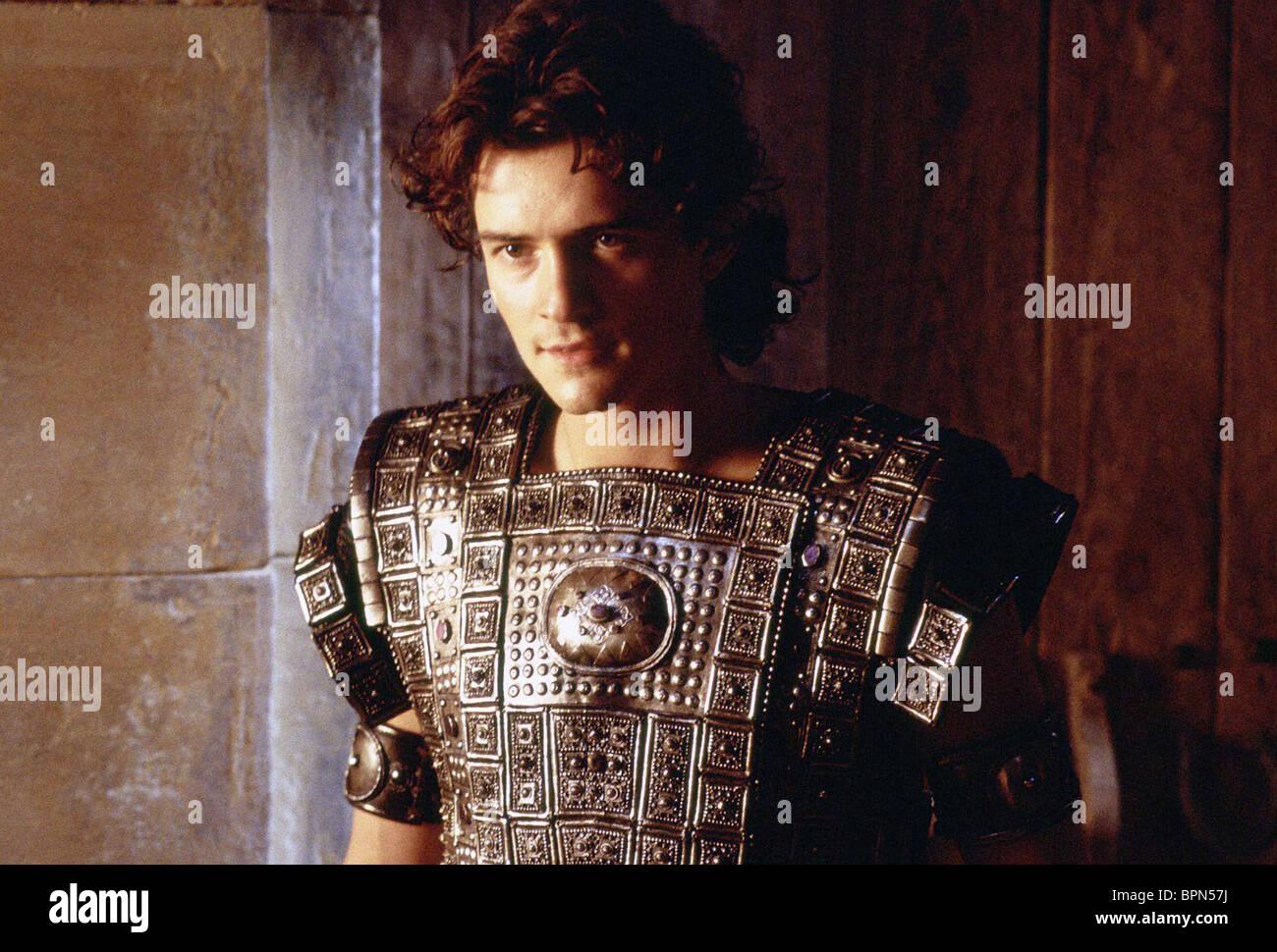 Orlando Bloom Troy 2004 Stock Photo Alamy