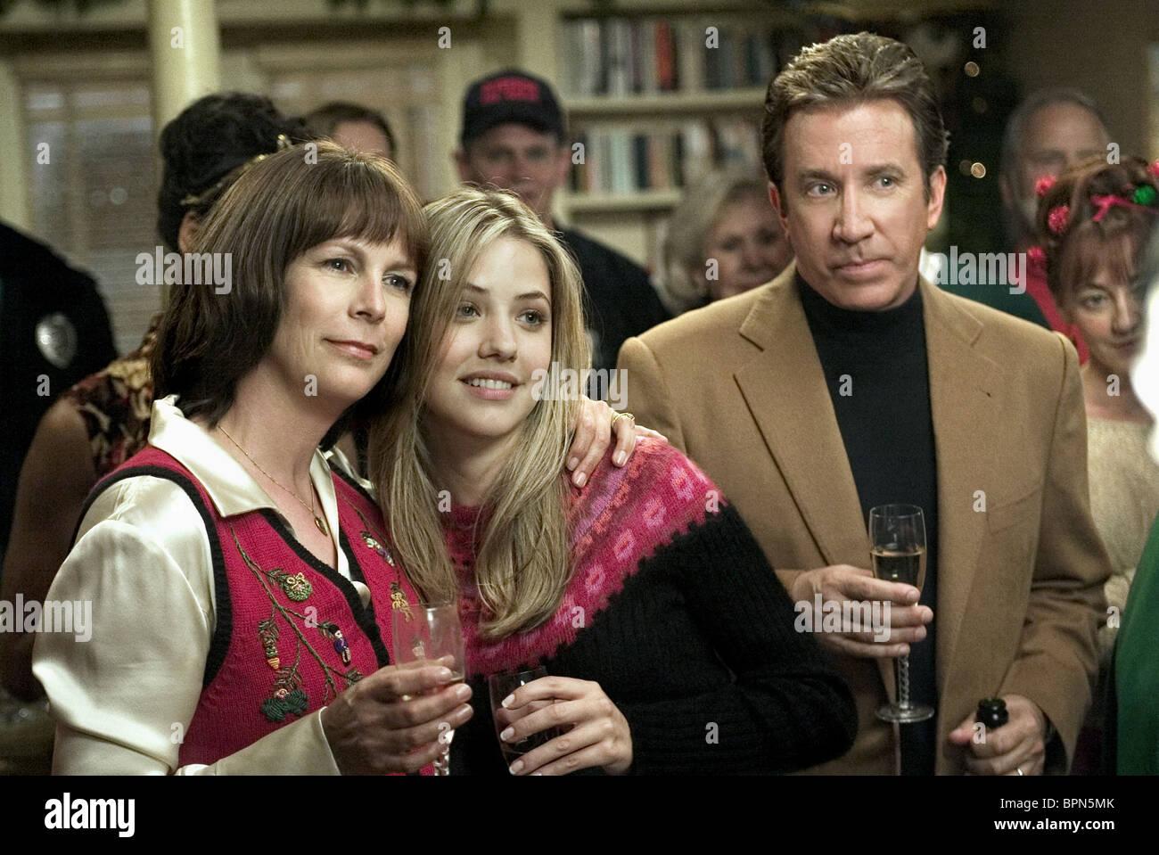Christmas With The Cranks.Jamie Lee Curtis Julie Gonzalo Tim Allen Christmas With