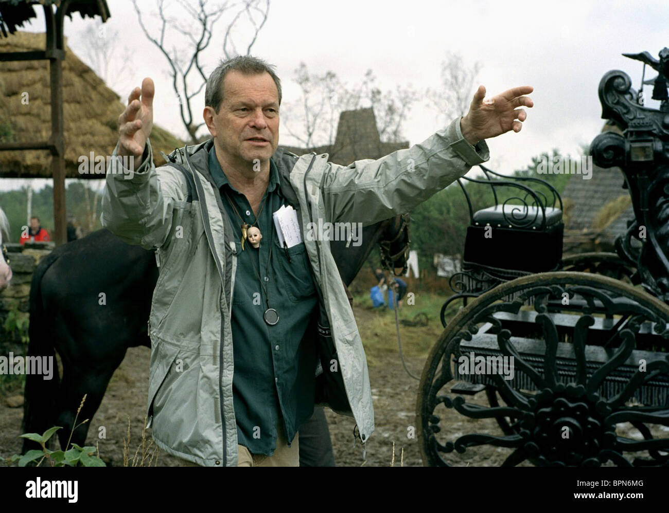 TERRY GILLIAM THE BROTHERS GRIMM (2005) - Stock Image