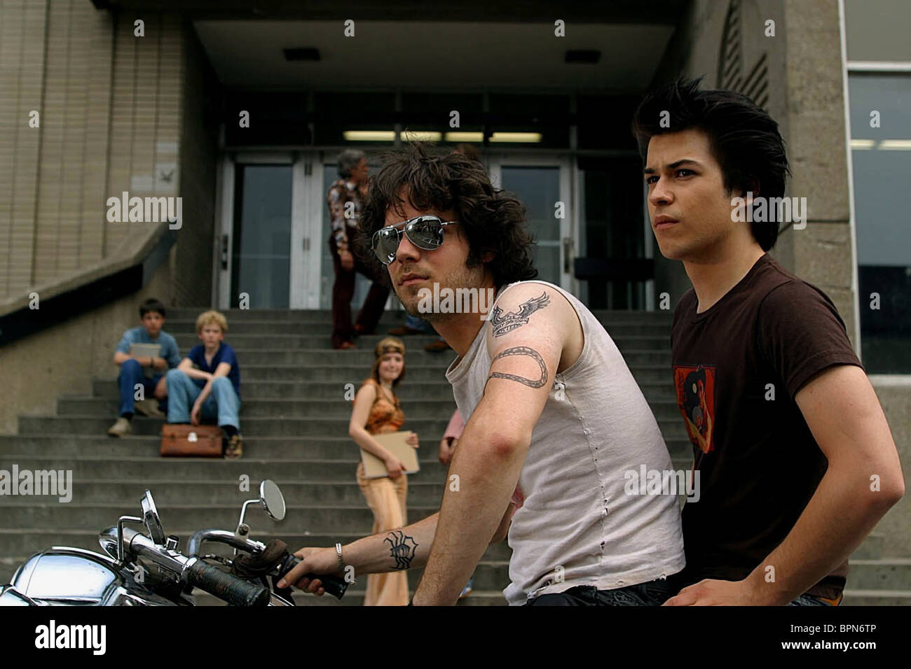 PIERRE-LUC BRILLANT & MARC-ANDRE GRONDIN C.R.A.Z.Y.; CRAZY (2005) - Stock Image