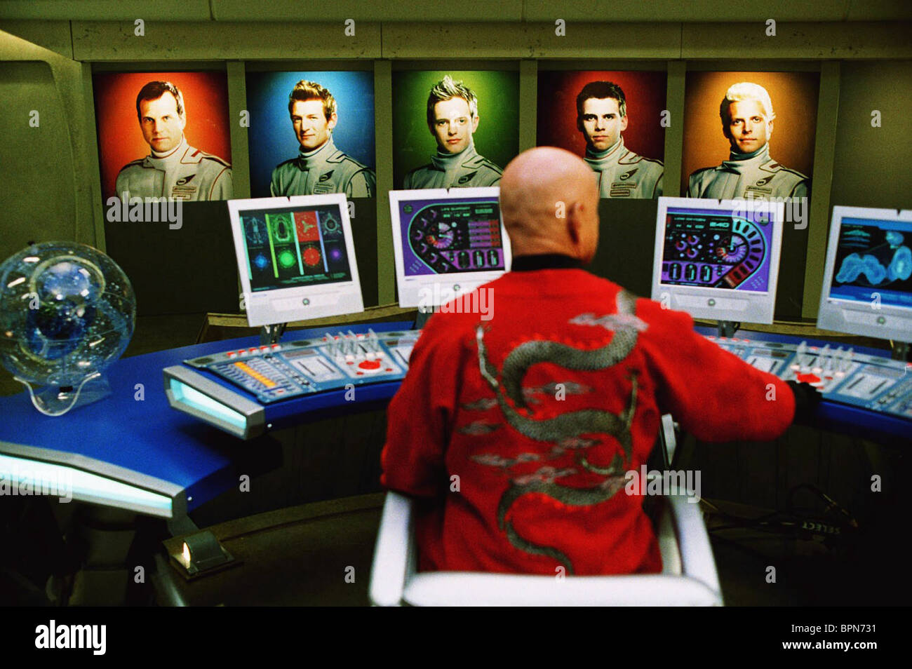 BEN KINGSLEY THUNDERBIRDS (2004) - Stock Image