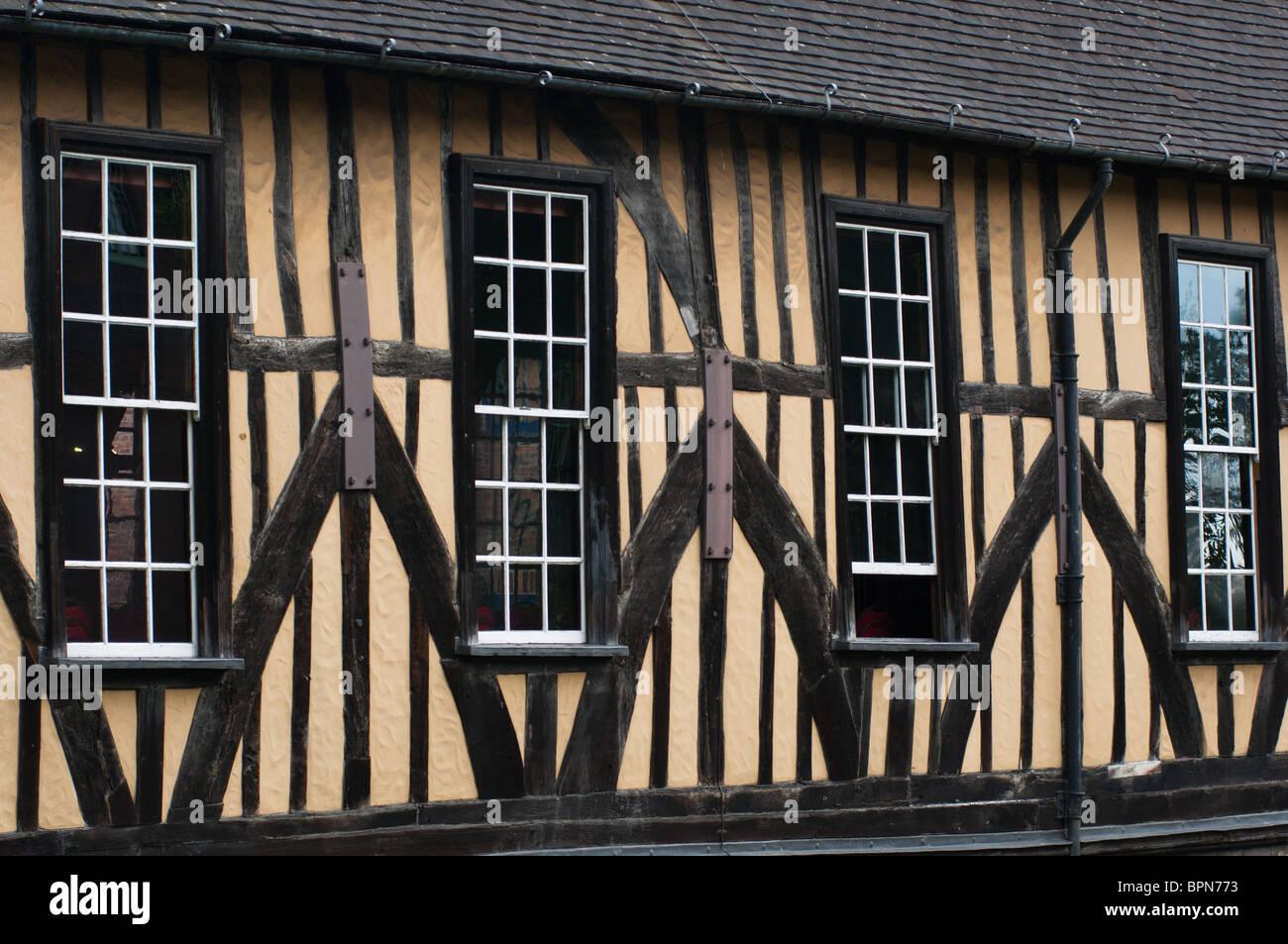 Merchant Adventurers Hall York England - Stock Image