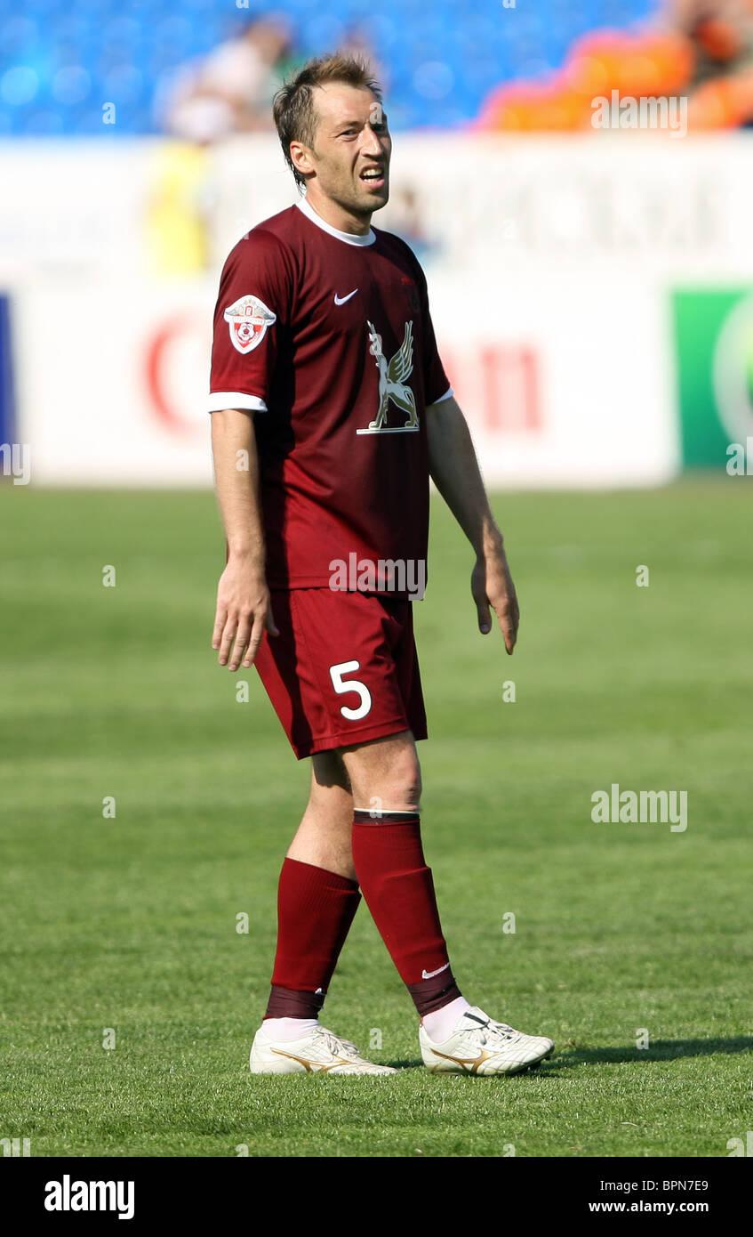 Russian Football Premier League: Rubin Kazan 0-2 Rostov Rostov-on-Don - Stock Image