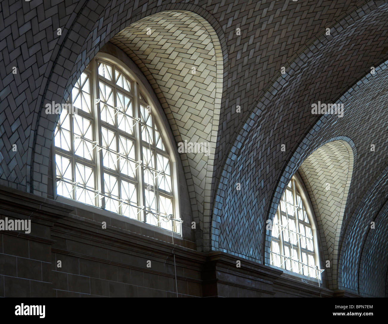 Arched windows - Stock Image