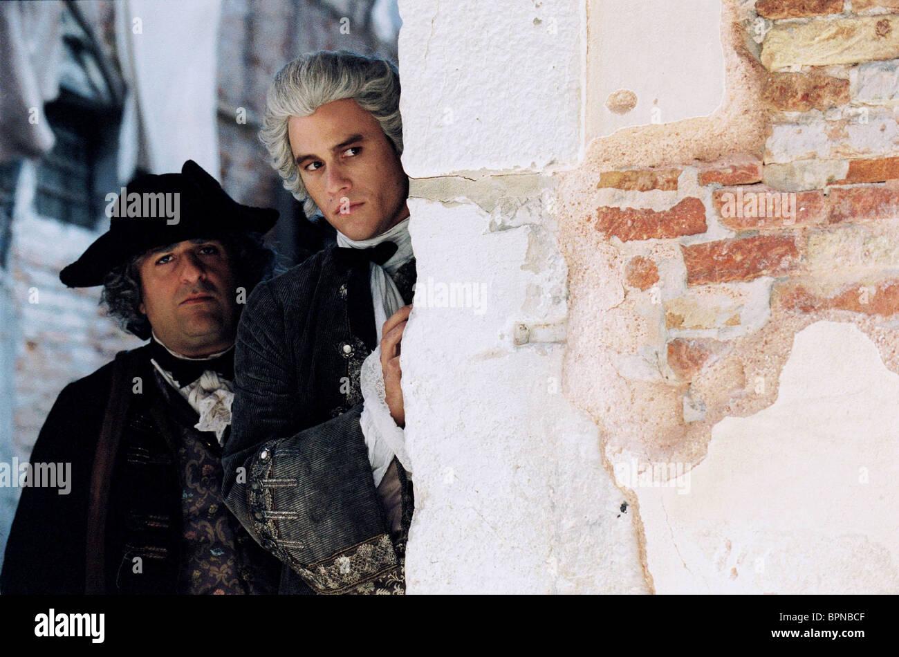 OMID DJALILI & HEATH LEDGER CASANOVA (2005) - Stock Image