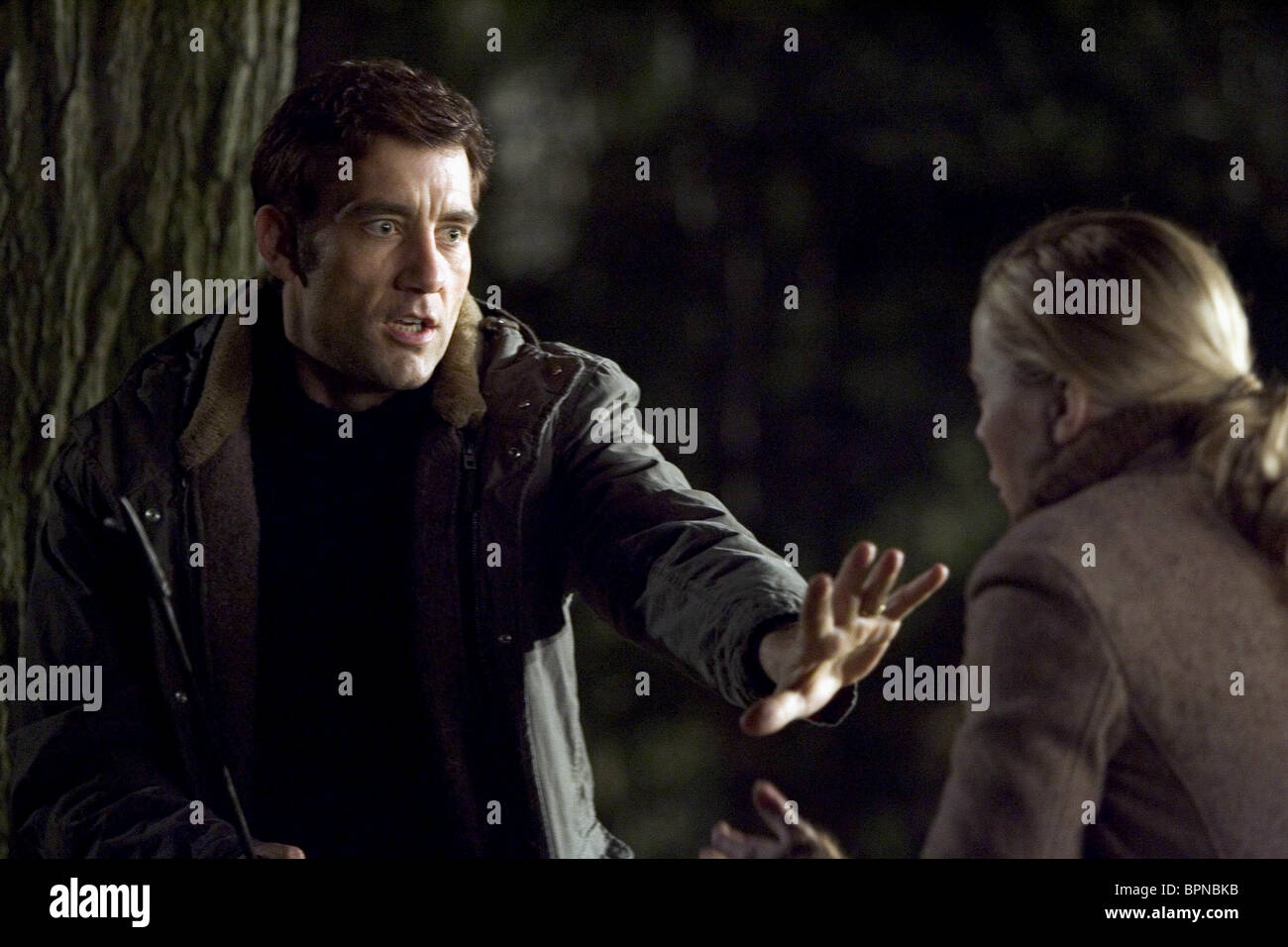 CLIVE OWEN DERAILED (2005) - Stock Image