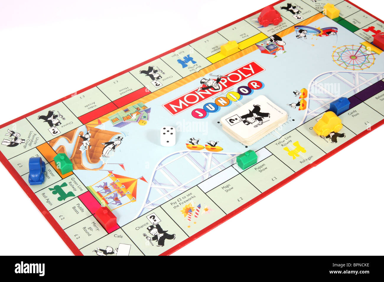 Monopoly for young Children - Stock Image