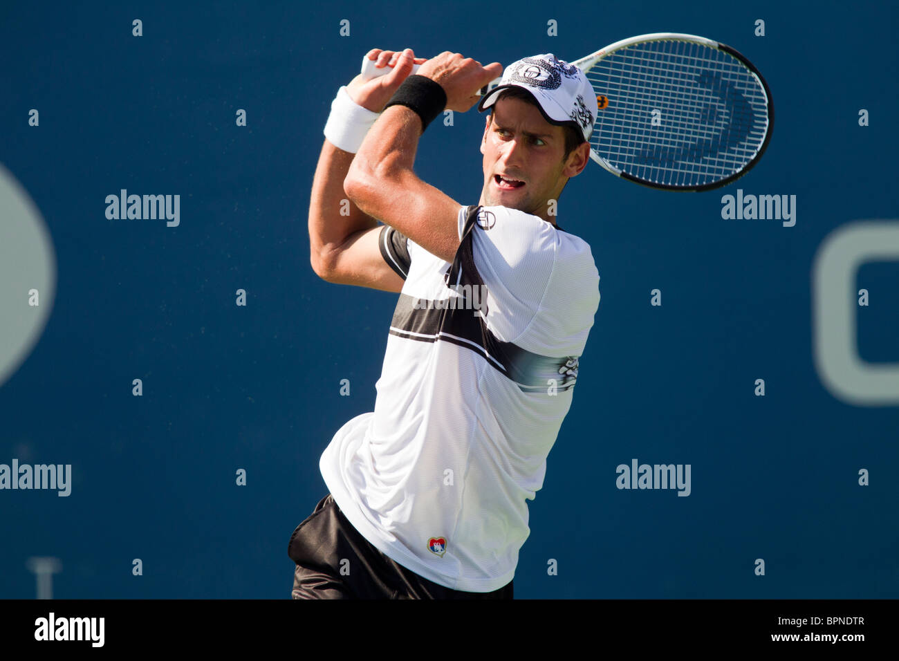Novak Djokovic (SRB) 2010 US Open Tennis - Stock Image