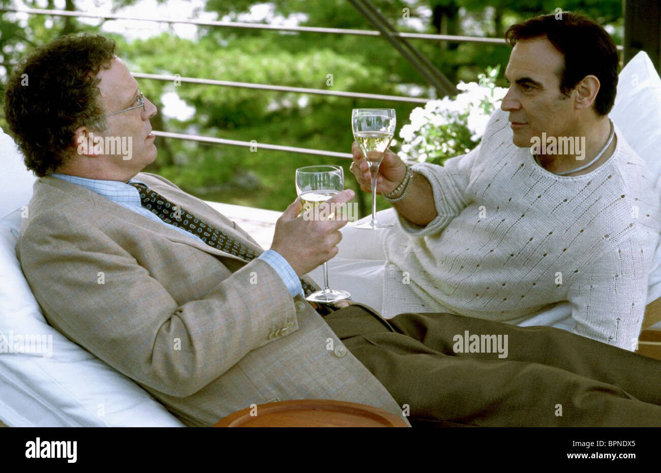 ALBERT BROOKS & DAVID SUCHET THE IN-LAWS (2003) - Stock Image