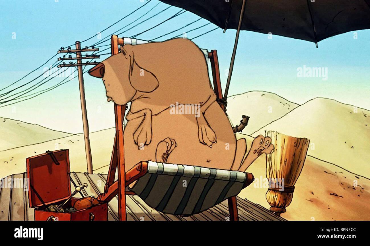 BRUNO THE TRIPLETS OF BELLEVILLE (2003) - Stock Image