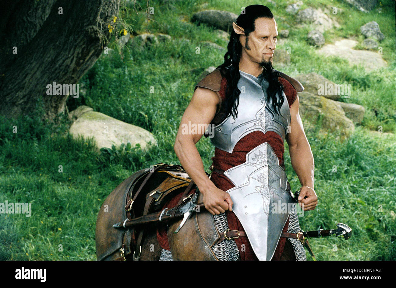 PATRICK KAKE AS OREIUS THE MINOTAUR THE CHRONICLES OF NARNIA: THE LION THE WITCH AND THE WARDROBE (2005) - Stock Image