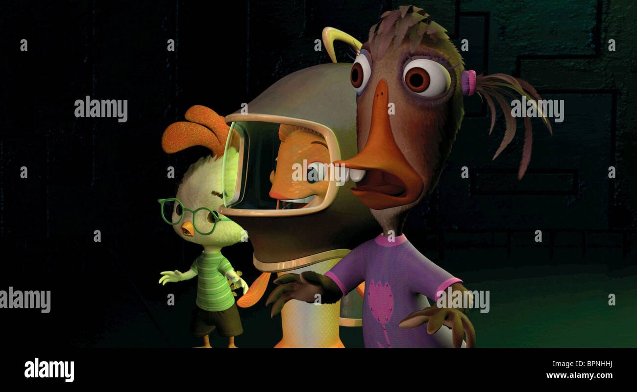 Ugly Duckling Fish Chicken Little Chicken Little 2005 Stock Photo Alamy