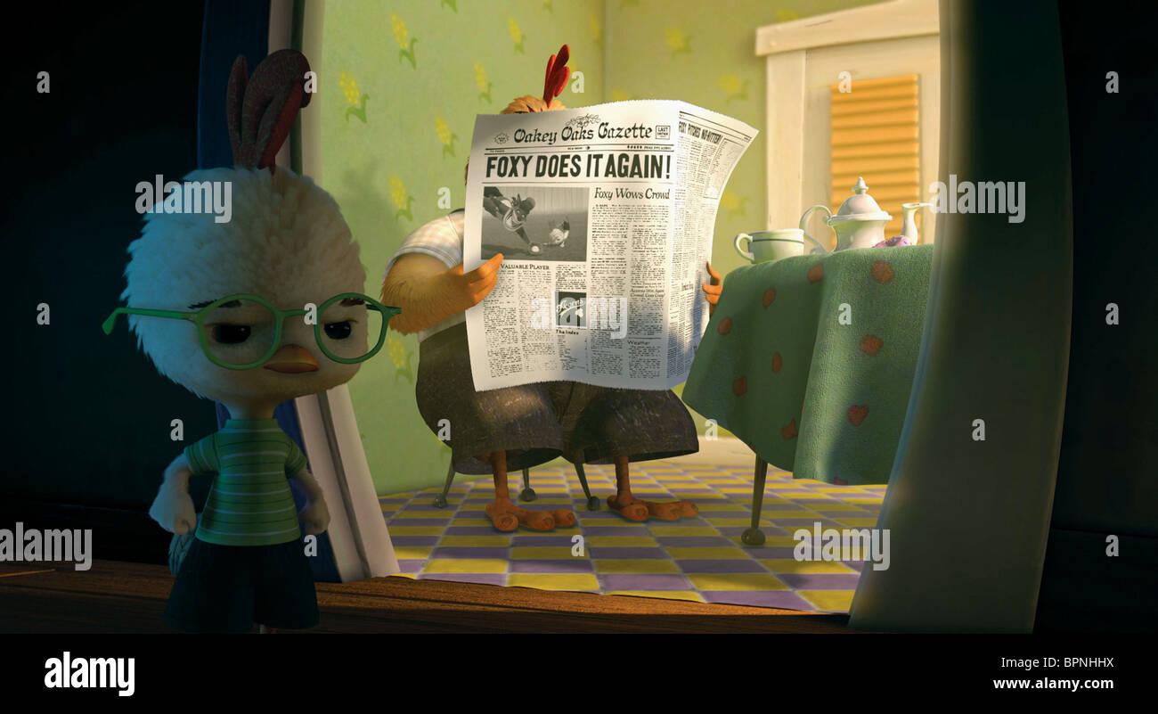 Chicken Little Buck Cluck Chicken Little 2005 Stock Photo Alamy