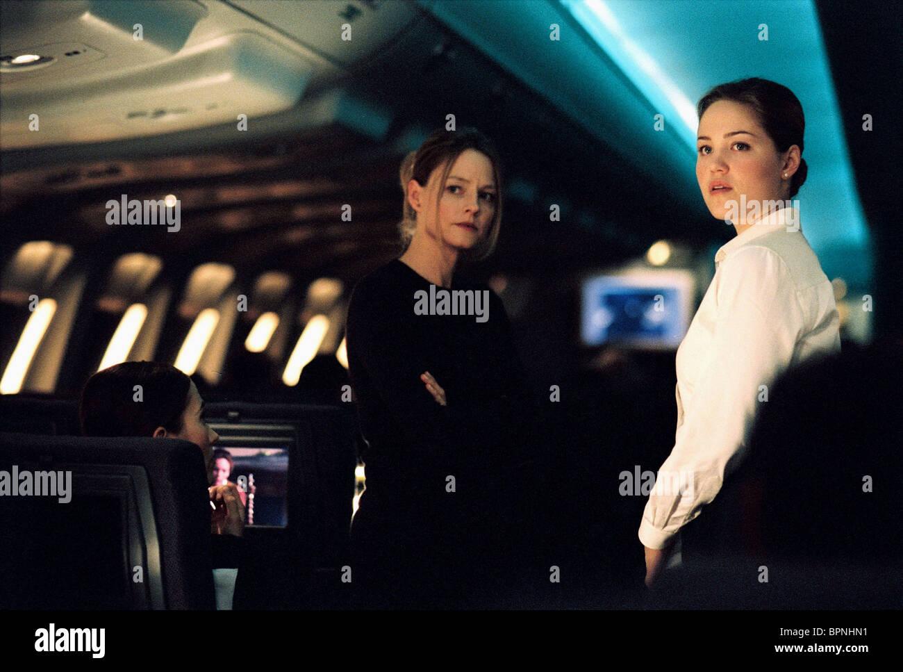 Jodie Foster Erika Christensen Flightplan 2005 Stock Photo Alamy