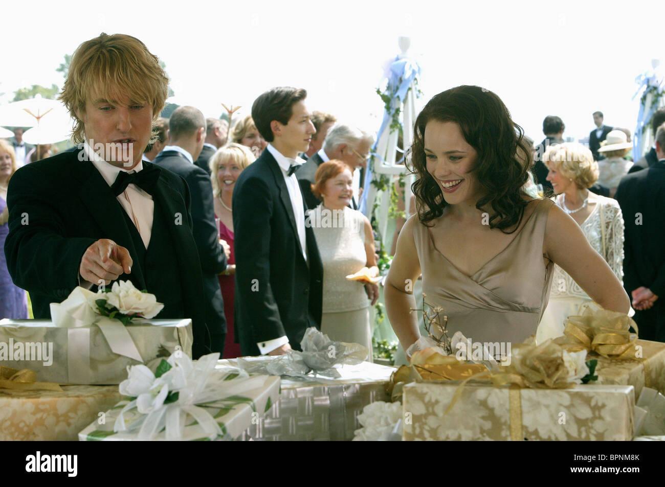 The Wedding Crashers.Owen Wilson Rachel Mcadams The Wedding Crashers 2005 Stock Photo