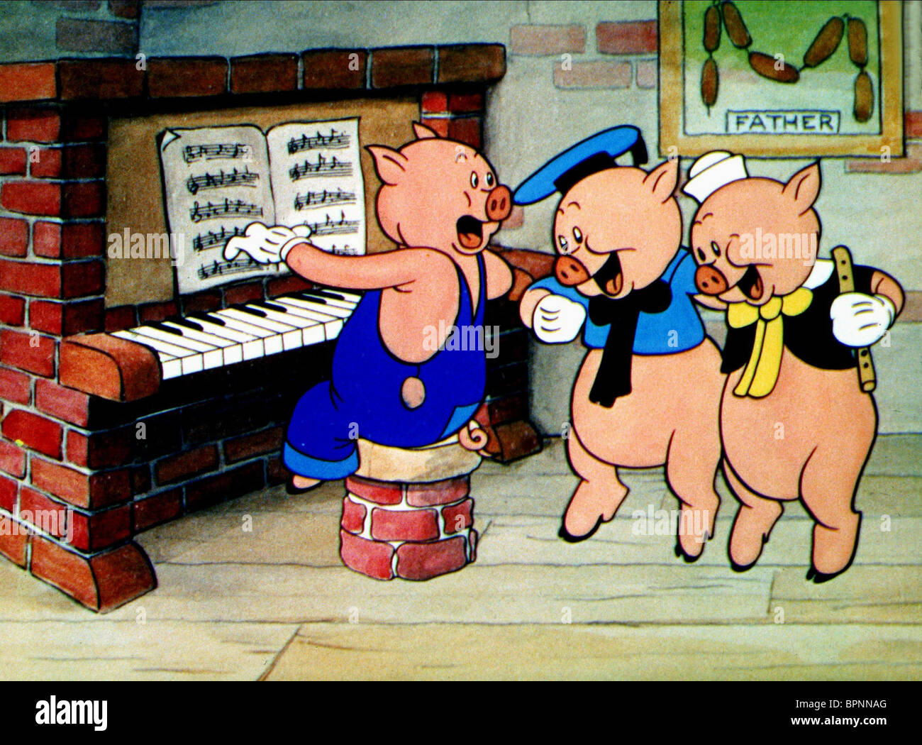 THE THREE LITTLE PIGS WALT DISNEY'S TIMELESS TALES : THREE LITTLE PIGS (2005) - Stock Image