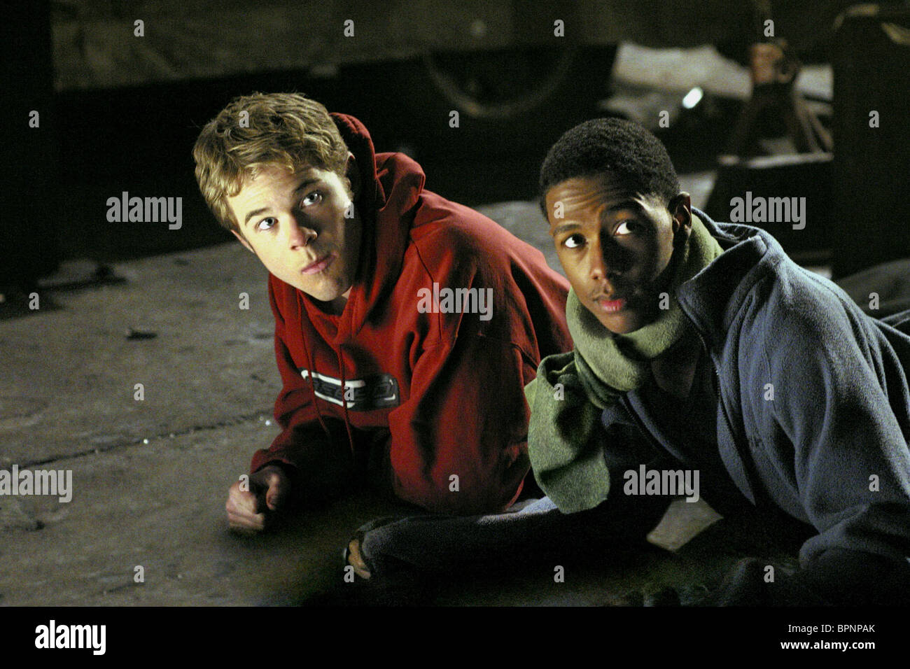SHAWN ASHMORE & NICK CANNON THE UNDERCLASSMAN; THE UNDERCLASS MAN (2005) - Stock Image