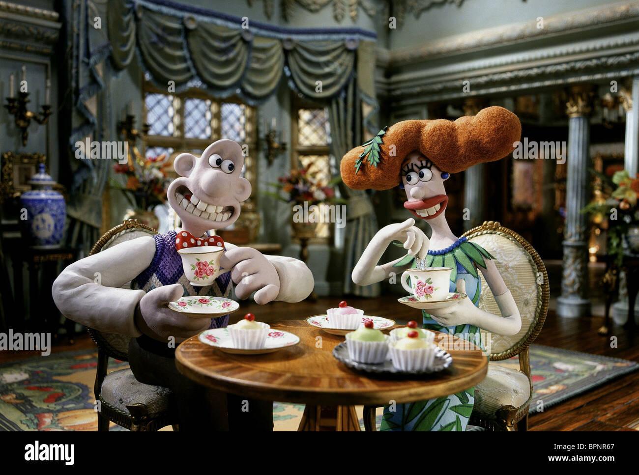 Wallace Lady Tottington The Curse Of The Were Rabbit 2005 Stock Photo Alamy
