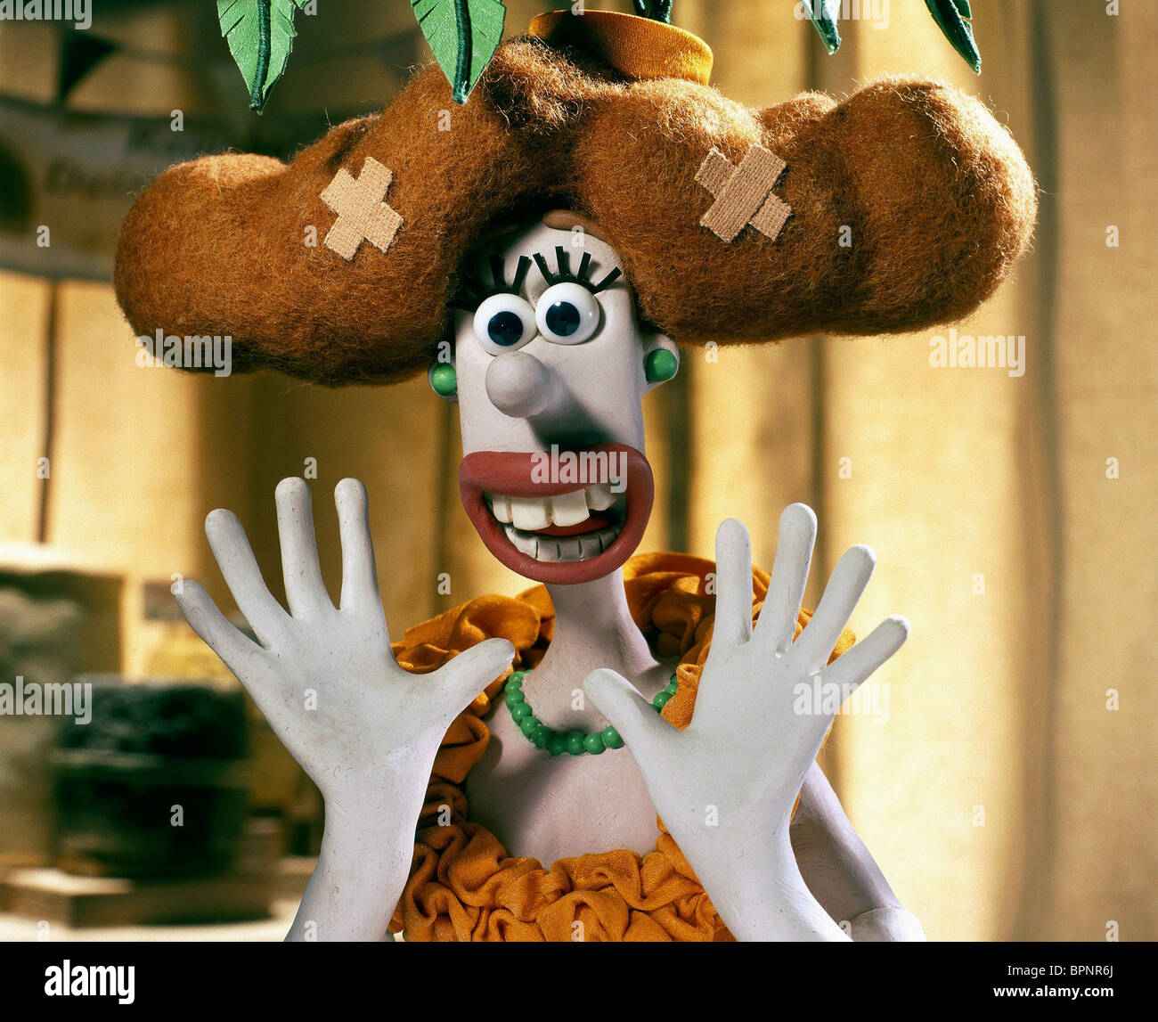 Lady Tottington Wallace Gromit The Curse Of The Were Rabbit Were Stock Photo Alamy