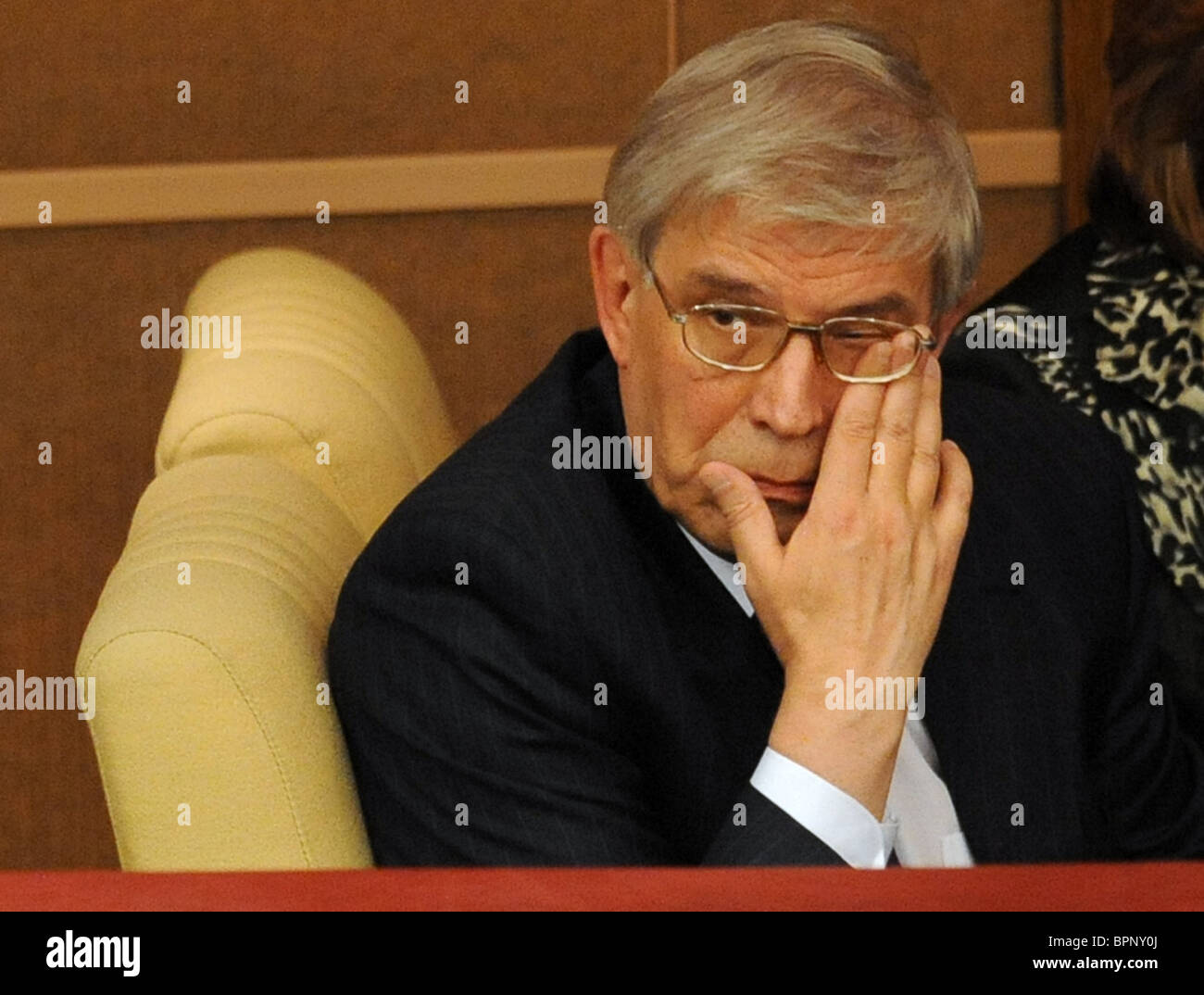 Ignatyev re-appointed as Russia Central Bank chief - Stock Image