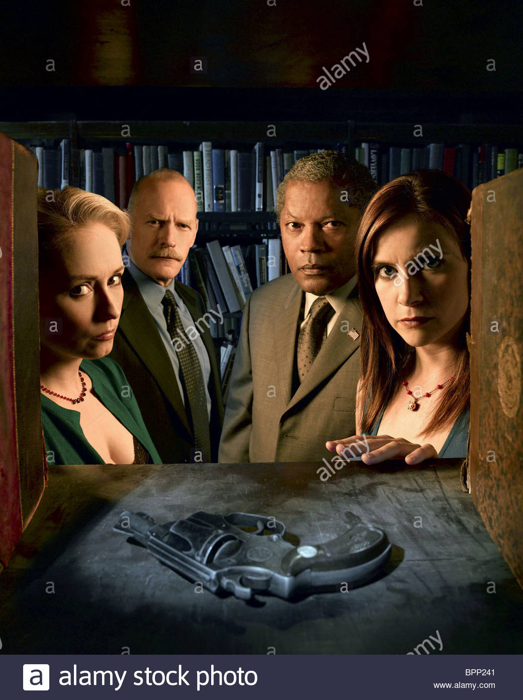 NINA SIEMASZKO CASEY SANDER CLARENCE WILLIAMS III & KELLIE MARTIN MYSTERY WOMAN: SING ME A MURDER (2005) Stock Photo
