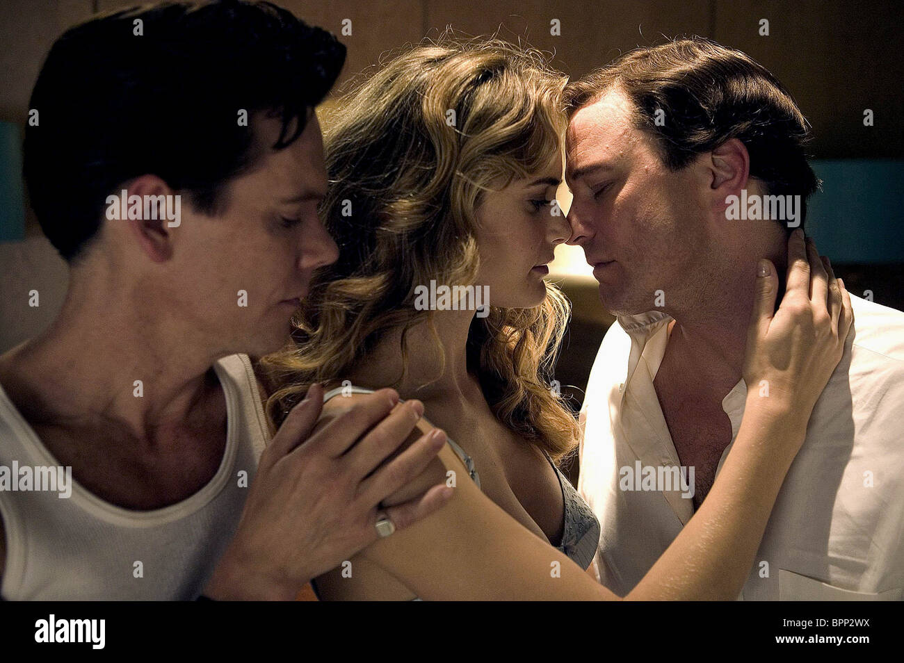 KEVIN BACON RACHEL BLANCHARD & COLIN FIRTH WHERE THE TRUTH LIES (2005) - Stock Image