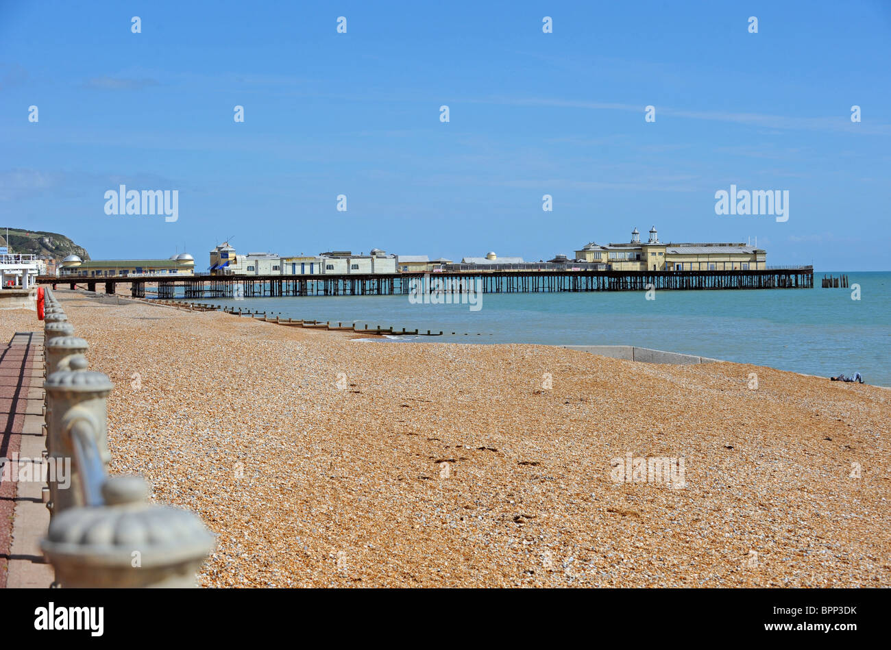 Hasting Pier currently closed after worries it could fall down - Stock Image
