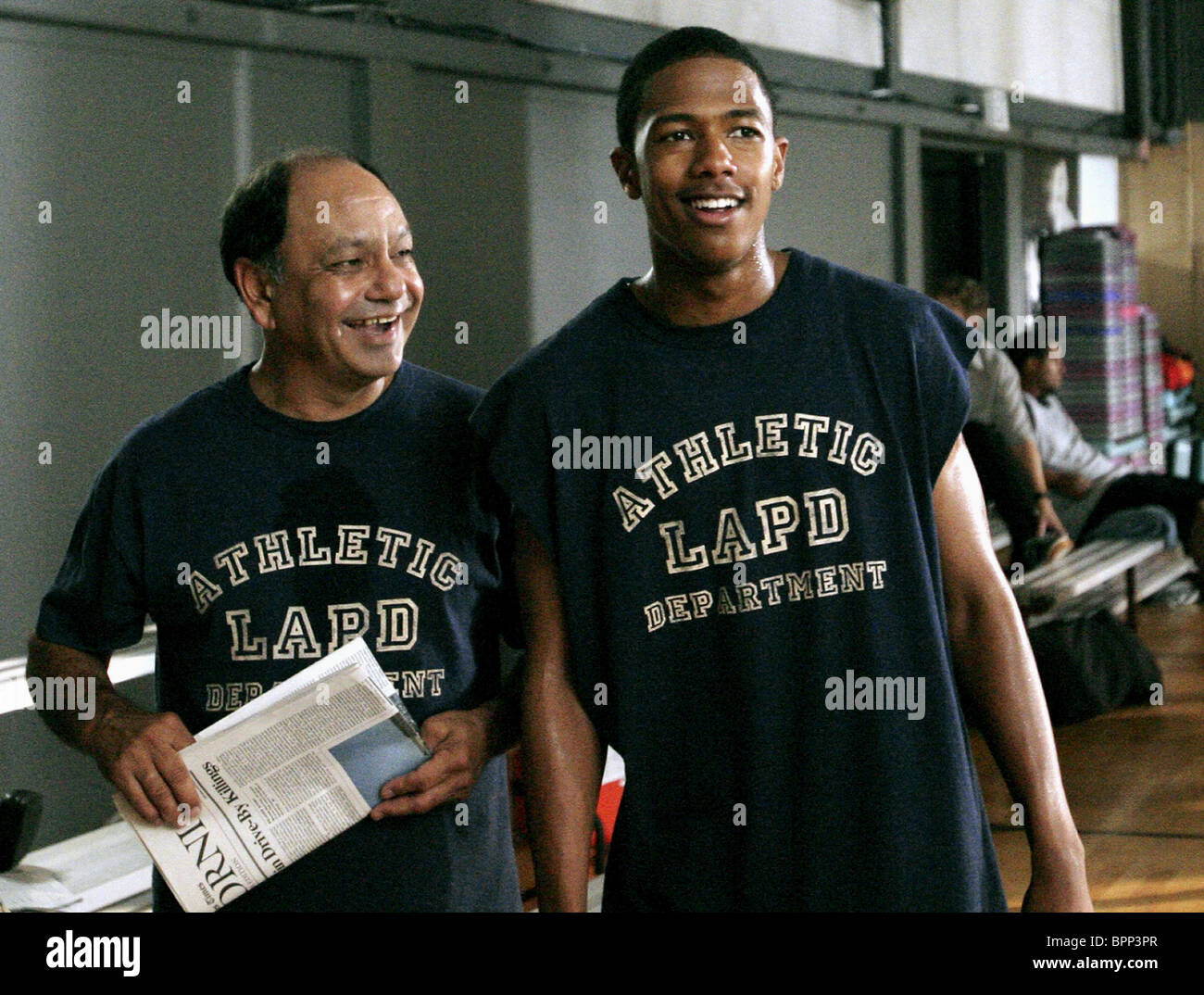 CHEECH MARIN & NICK CANNON THE UNDERCLASSMAN; THE UNDERCLASS MAN (2005) - Stock Image