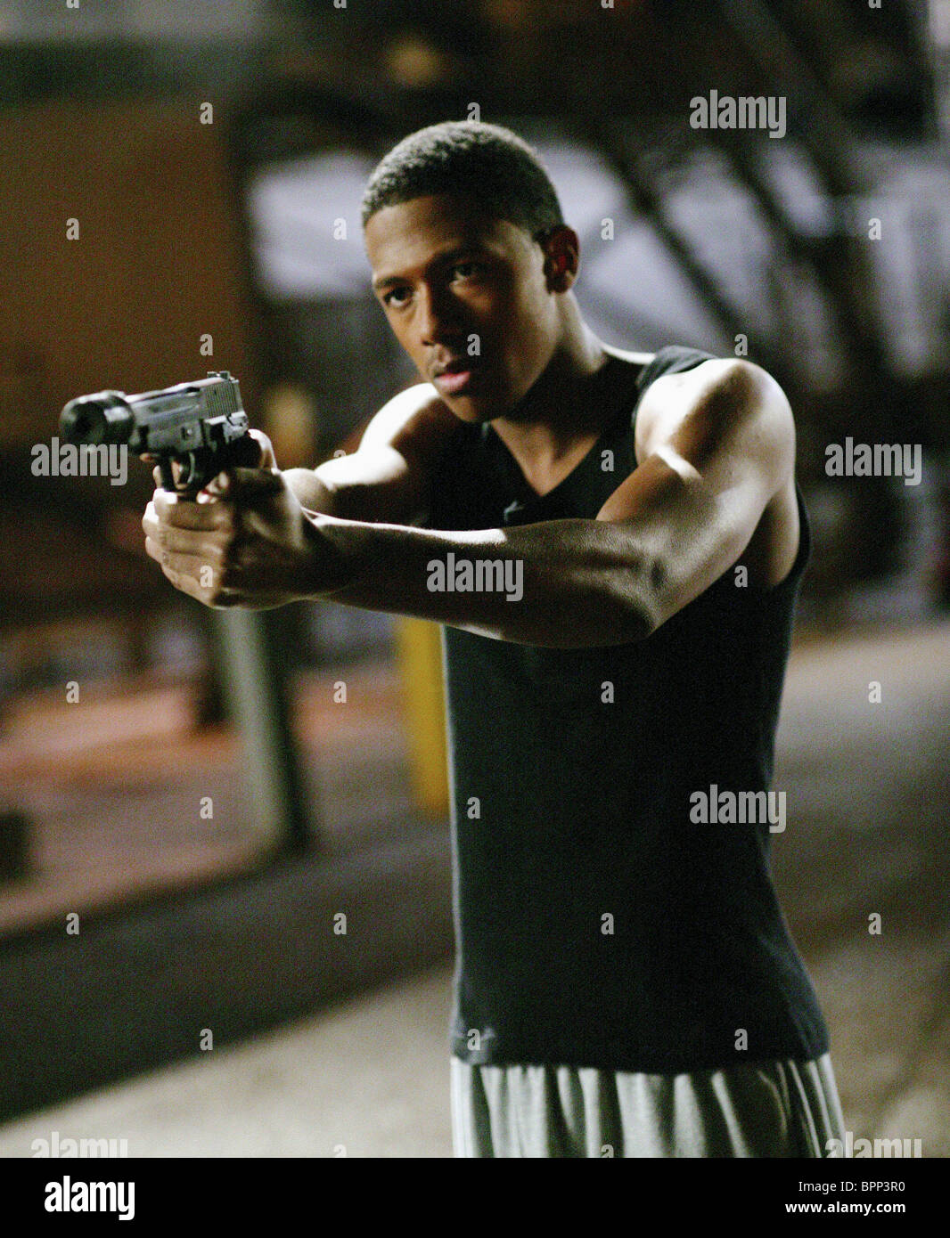 NICK CANNON THE UNDERCLASSMAN; THE UNDERCLASS MAN (2005) - Stock Image