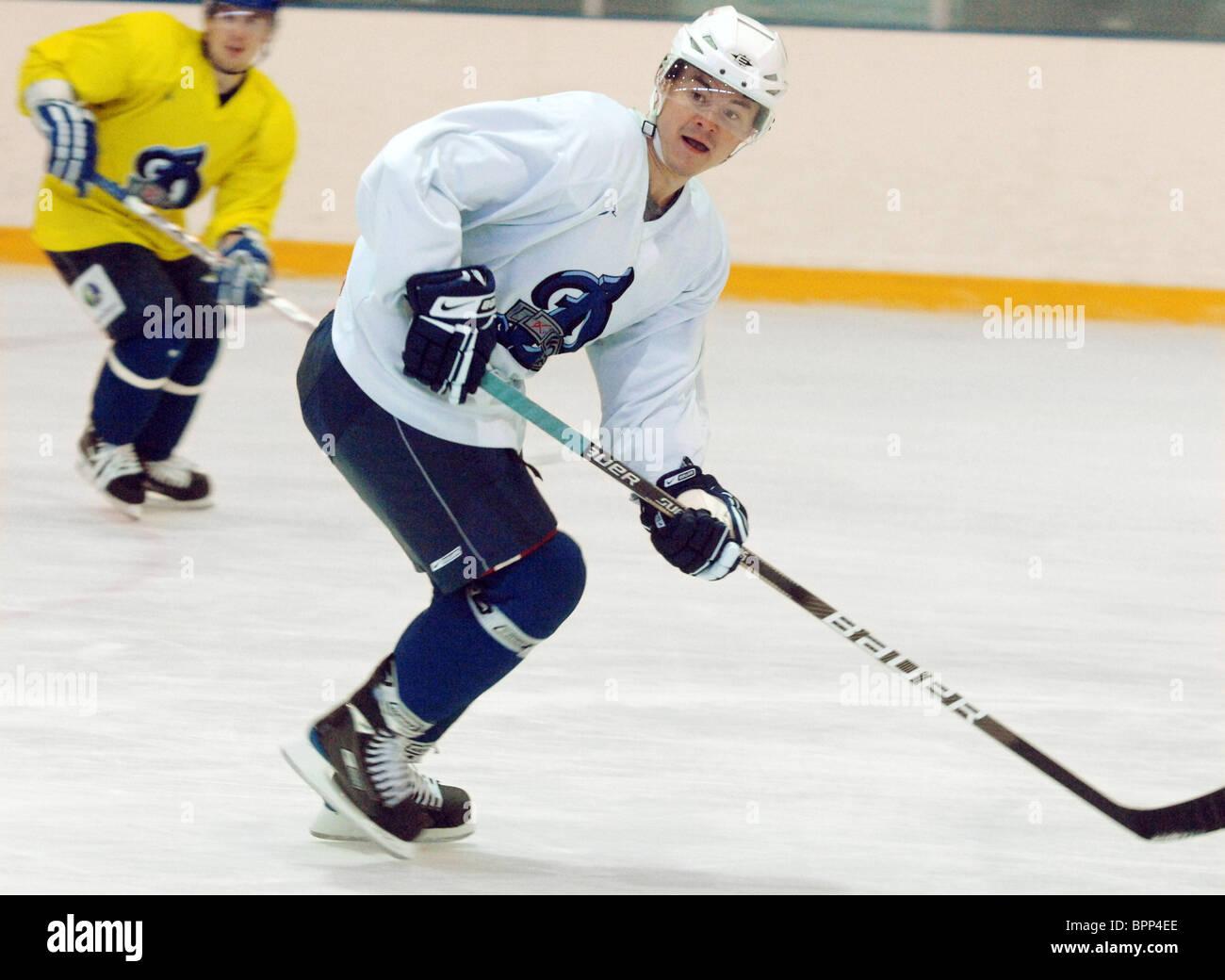 Jiri Hudler joins HC Dynamo Moscow - Stock Image