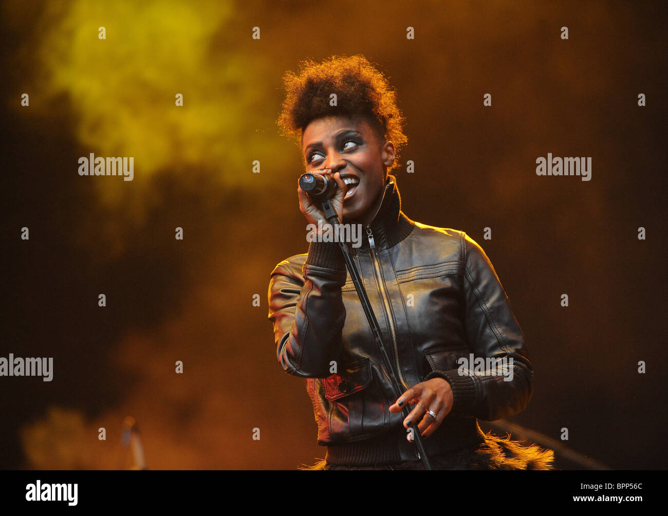 Skye performs at NuNote Lounge Fest - Stock Image