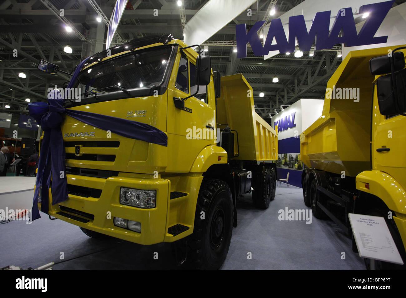 Moscow hosts InterAuto 2009 International Automotive Exhibition - Stock Image