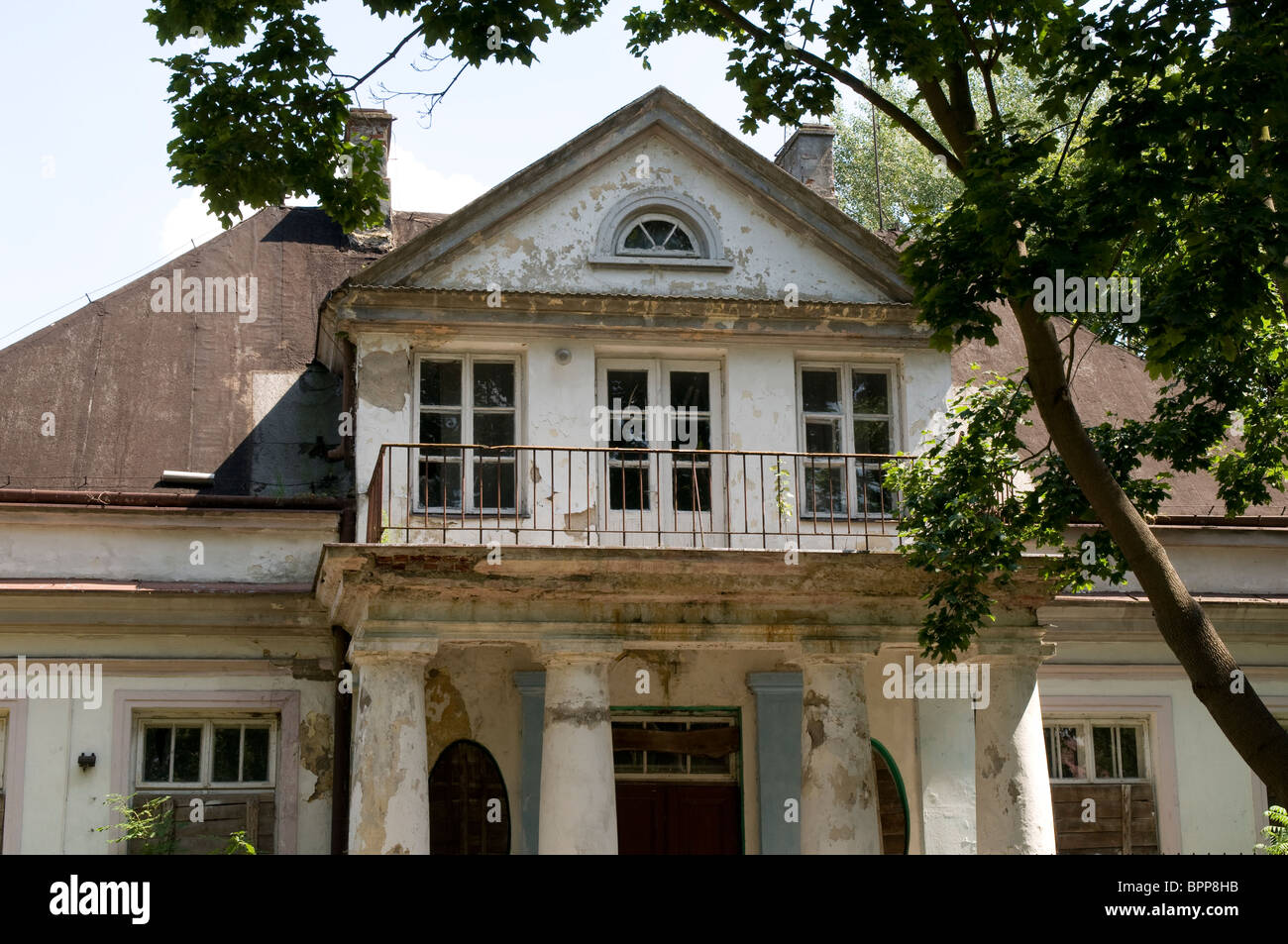 Manor house, Sochaczew, Poland - Stock Image