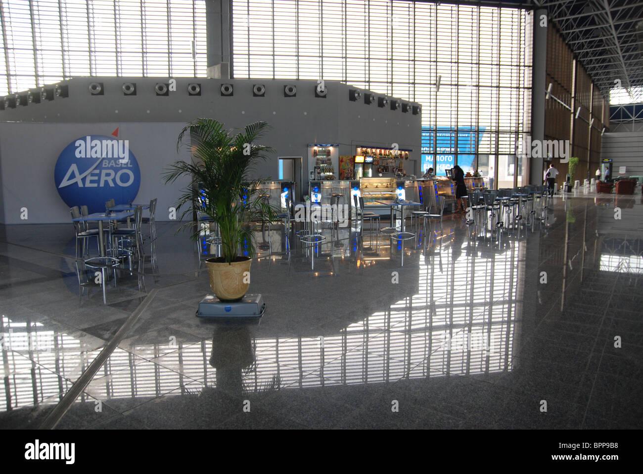 Sochi's 2014 Olympic facilities under construction - Stock Image