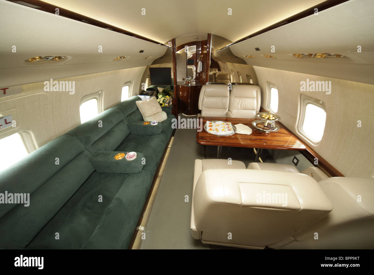 Jet Expo 2009 International Business Aviation Exhibition opens - Stock Image