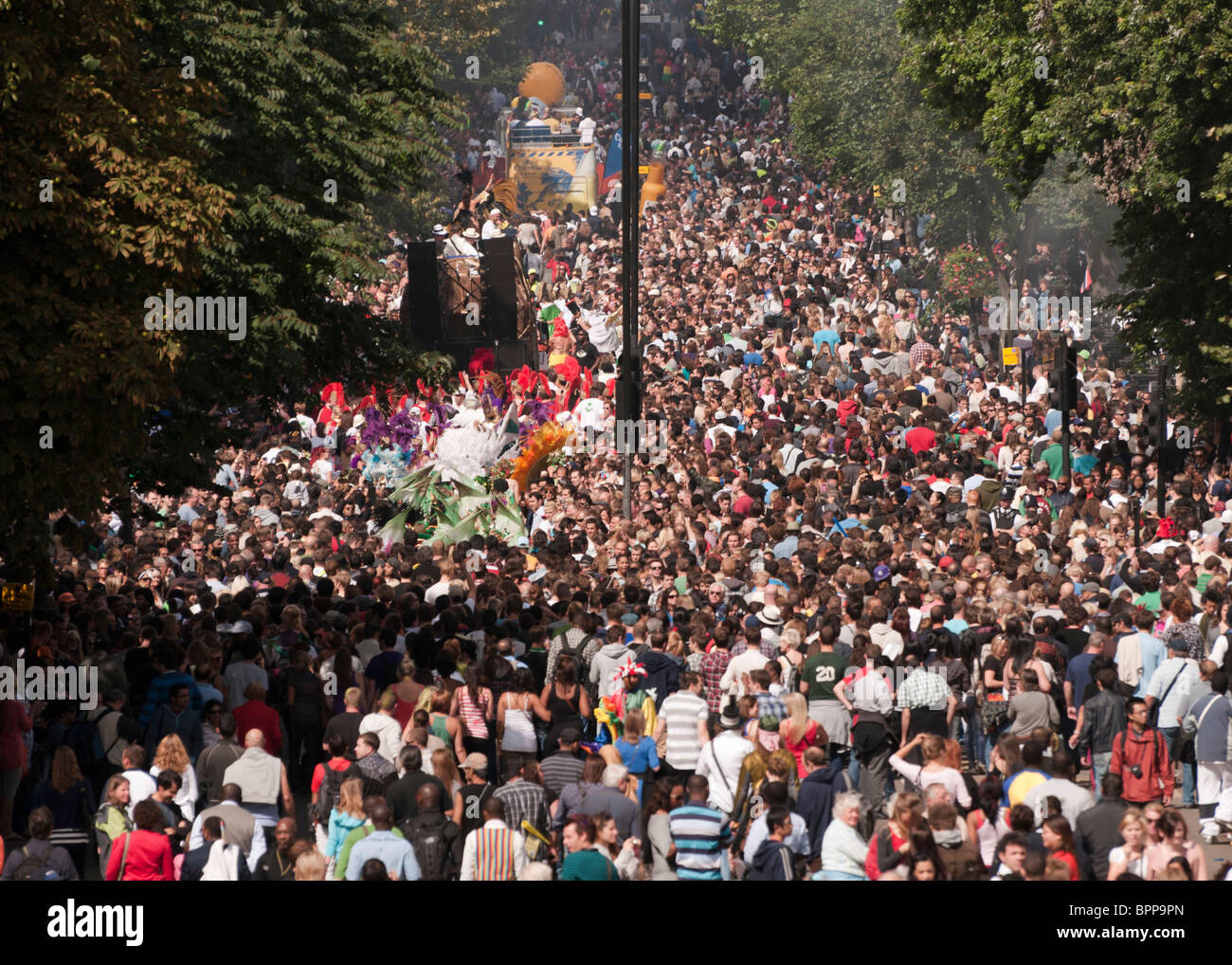 Notting Hill Carnival 2010 Stock Photo