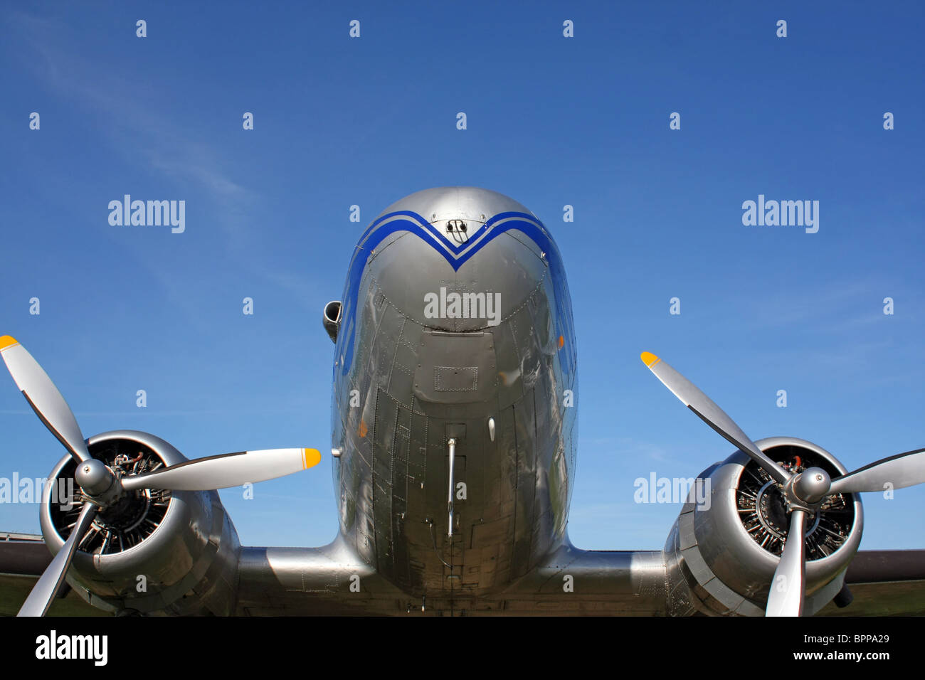 classic aircraft - Stock Image