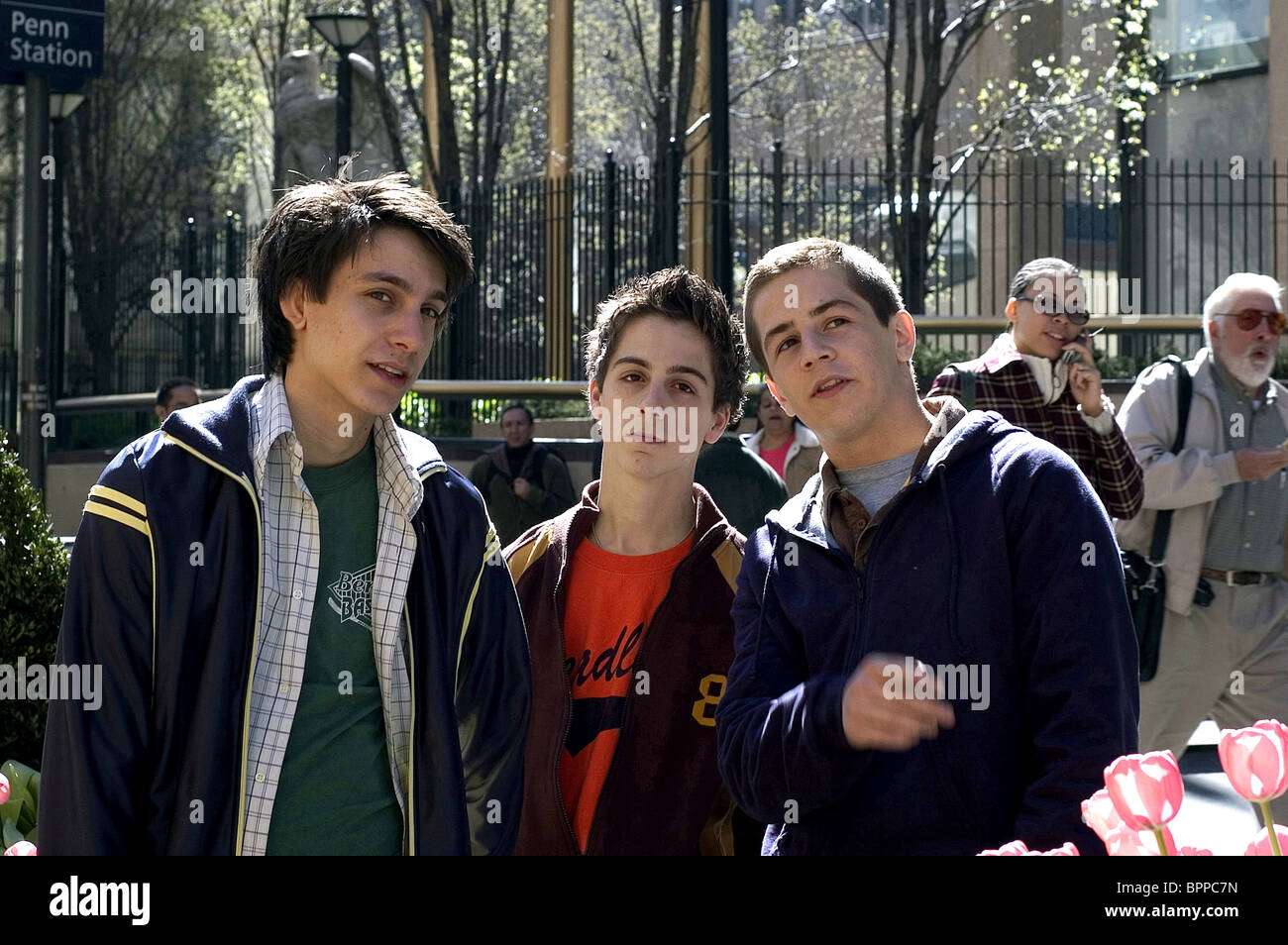 GIDEON GLICK MATTHEW BUSH & MICHAEL ANGARANO ONE LAST THING... (2005) - Stock Image