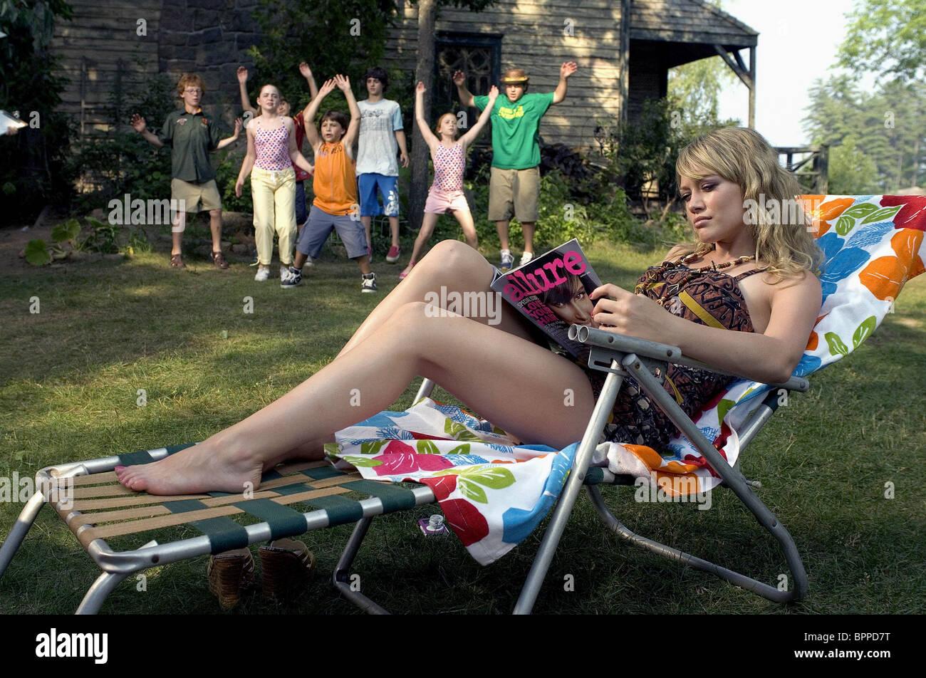 HILARY DUFF CHEAPER BY THE DOZEN 2 (2005) - Stock Image