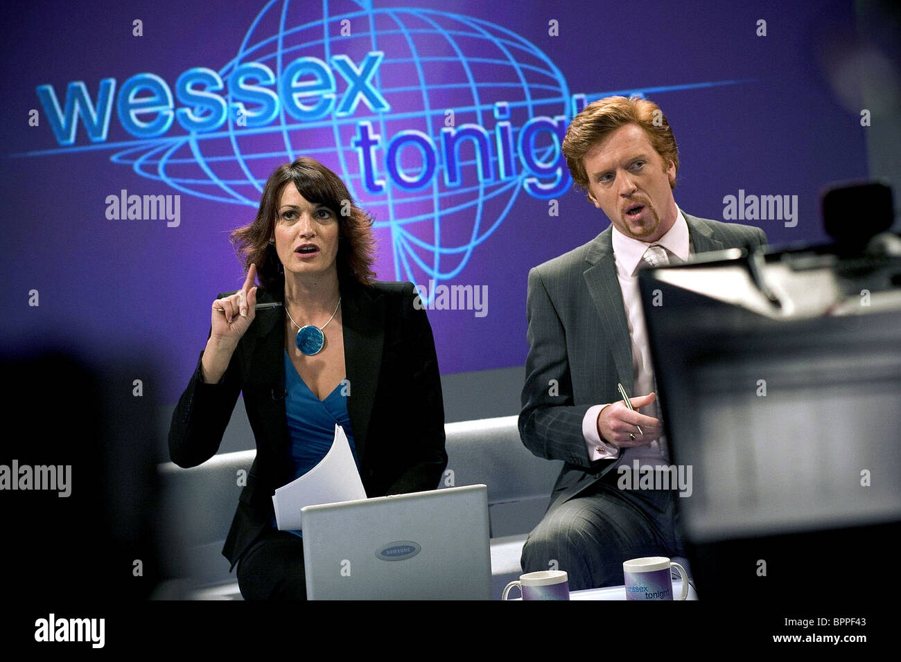 SARAH PARISH & DAMIAN LEWIS MUCH ADO ABOUT NOTHING (2005) - Stock Image