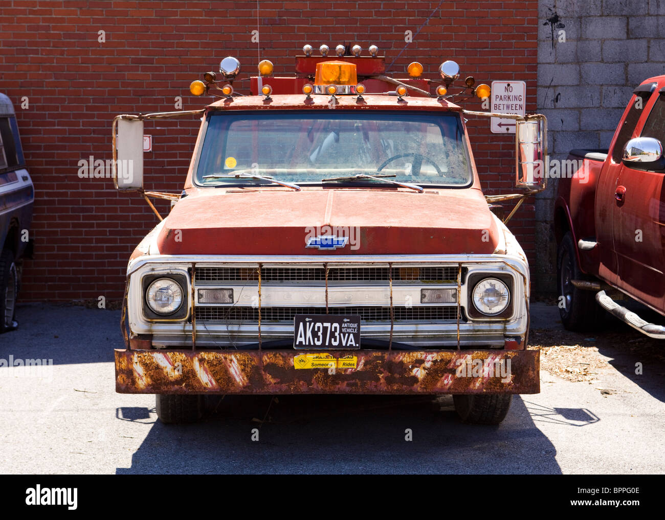 1969 Chevy Tow Truck Stock Photo 31228302