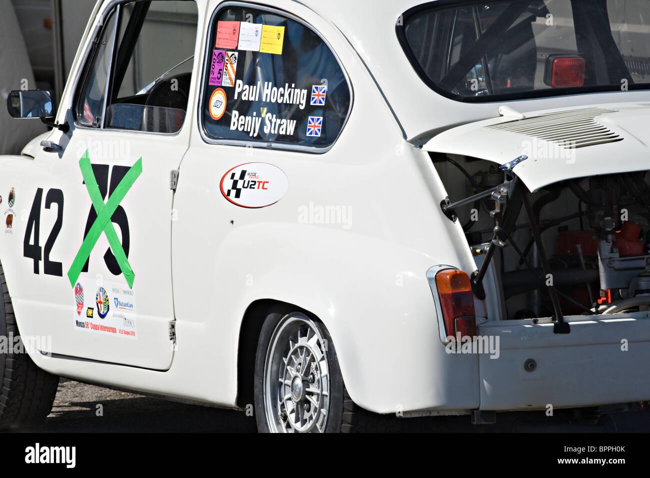 Fiat Racing Car Stock Photos Fiat Racing Car Stock Images Alamy