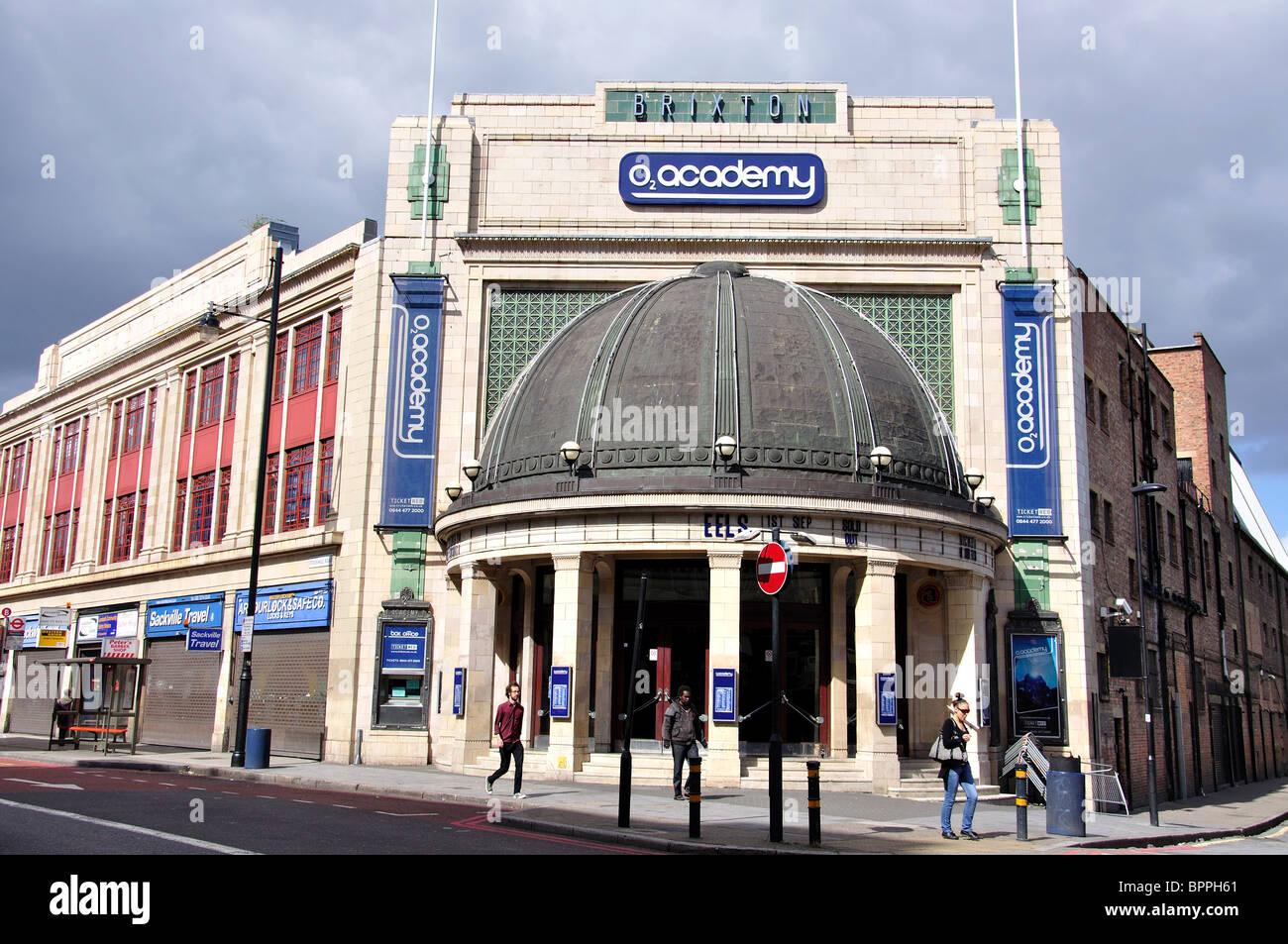 O2 Academy Brixton, Stockwell Road, Brixton, London Borough of Lambeth, Greater London, England, United Kingdom Stock Photo
