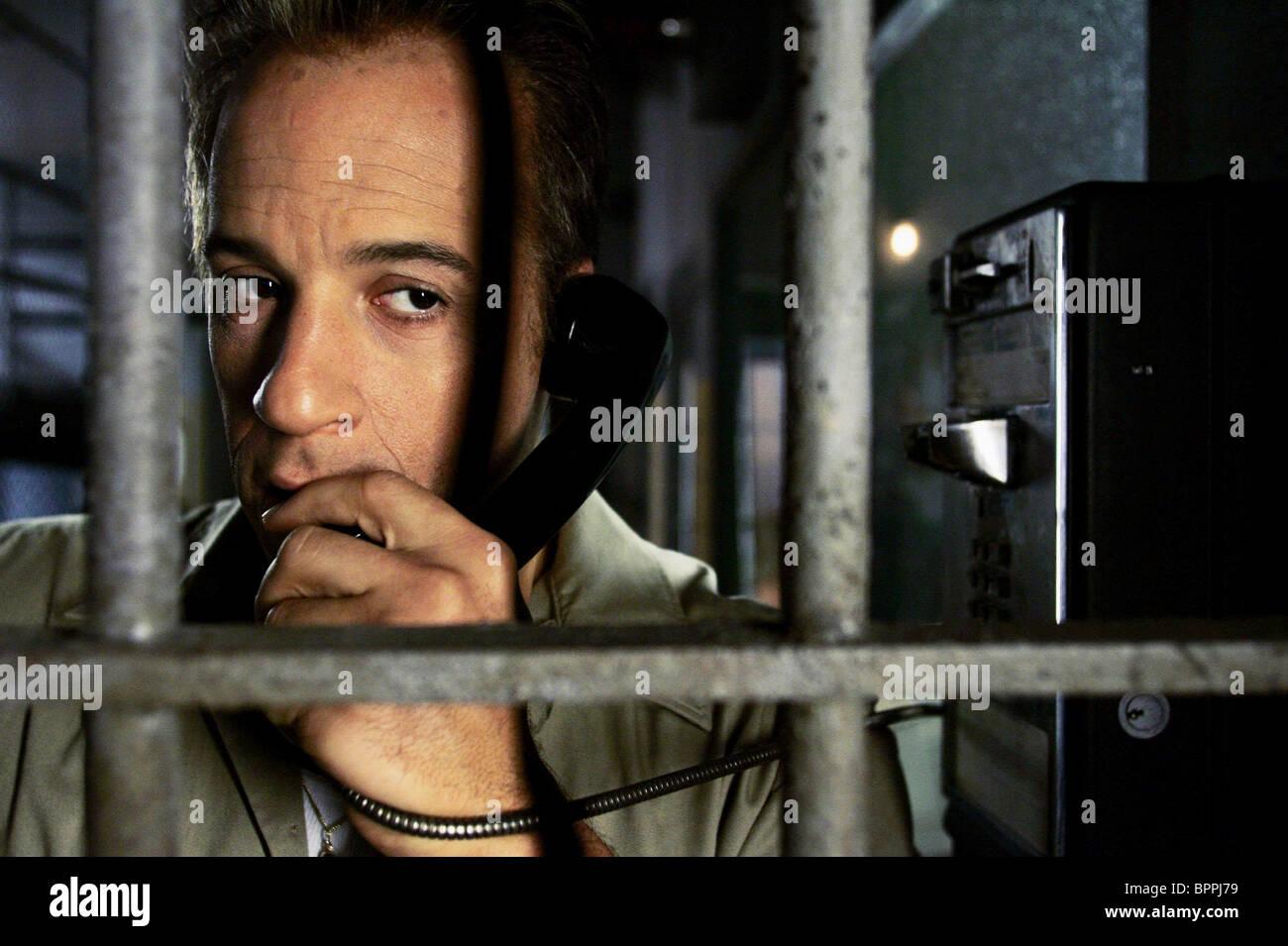 VIN DIESEL FIND ME GUILTY (2006) - Stock Image